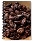 Fresh Roasted Cocoa Beans - Nibs Spiral Notebook