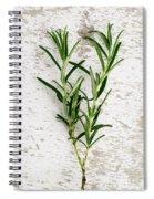 Fresh Rosemary Spiral Notebook