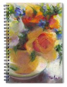 Fresh - Roses In Teacup Spiral Notebook