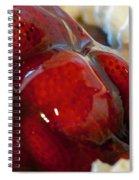 Fresh Strawberry Pie Spiral Notebook
