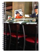 Fresh Sushi  Spiral Notebook