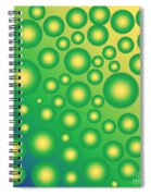 Fresh Tropical Bubbles Spiral Notebook