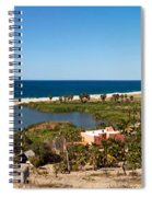 Fresh Water Lagoon At Playa La Poza Spiral Notebook