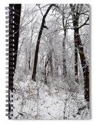 Freshly Fallen Snow Spiral Notebook
