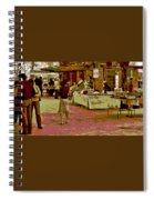 Fresno Urban Farmers Market  Spiral Notebook