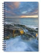 Freycinet Cloud Explosion Spiral Notebook
