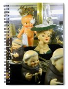 Friars And Ladies Spiral Notebook