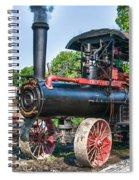Frick Steam Tractor Spiral Notebook