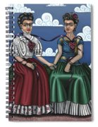 Frida Beside Myself Spiral Notebook