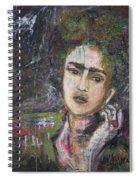 Frida Y Cigarrillos Spiral Notebook