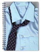 Friday Night - Men's Fashion Art By Sharon Cummings Spiral Notebook