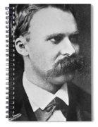 Friedrich Wilhelm Nietzsche Spiral Notebook
