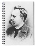 Friedrich Wilhelm Nietzsche In 1883 Spiral Notebook