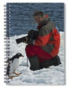 Friend Of The Penguins... Spiral Notebook