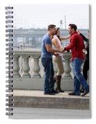 Friends Greeting  Spiral Notebook