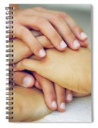 Friends Hands Spiral Notebook