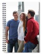 Friends Talking Spiral Notebook
