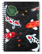Friendship Underwater Big Commissioned Painting Spiral Notebook