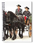 Friesian Carriage Spiral Notebook