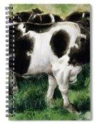 Friesian Cows Spiral Notebook