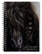 Friesian Power Spiral Notebook