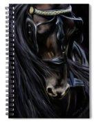 Friesian Spirit Spiral Notebook