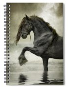 Friesian Surf  Spiral Notebook