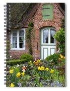 Frisian House Spiral Notebook