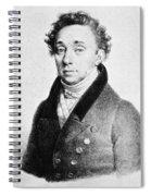 Fritz Demmer Spiral Notebook