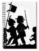 Fr�lich Playing Children Spiral Notebook