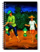 Frog Hunters Spiral Notebook