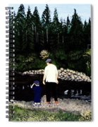 Frog Hunting With Poppy Spiral Notebook