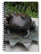 Frog Whisperer Spiral Notebook