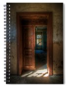 From A Door To A Window Spiral Notebook