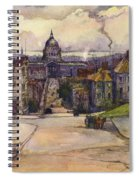 From A Hilltop In San Francisco By  Rowena Meeks Abdy Early California Artist C 1906 Spiral Notebook