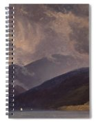 From Balestrand At The Sognefjord Spiral Notebook