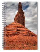 From The Valley To The Sky Spiral Notebook
