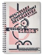 Front Cover Of Nouvelles Compositions Decoratives Spiral Notebook