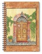 Front Door 2 Spiral Notebook