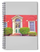 Front Of Home Spiral Notebook