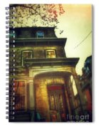 Front Of Old House Spiral Notebook