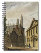Front Of Trinity Hall, Cambridge Spiral Notebook