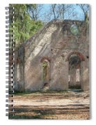 Front View Of The Chapel Of Ease Spiral Notebook