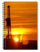 Frontier Nineteen Xto Energy Culbertson Montana Spiral Notebook
