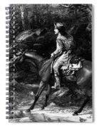 Frontiersman, 19th Century Spiral Notebook