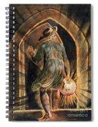 Frontispiece To Jerusalem Spiral Notebook