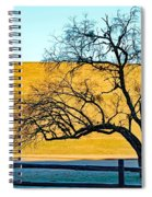 Frost Below The Tree Spiral Notebook