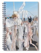 Frost Fair Parade At St Leonards Spiral Notebook