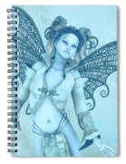 Frost Fairy Spiral Notebook