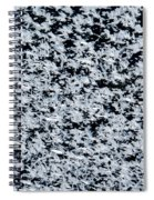 Frost Flakes On Ice - 17 Spiral Notebook
